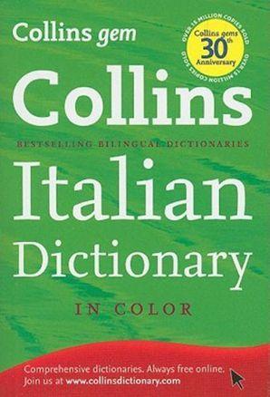 Collins Gem Italian, 8th Edition