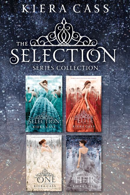Book Cover Series Books ~ The selection series book collection kiera cass e