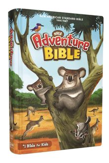 NASB, Adventure Bible, Hardcover, Full Color Interior, Red Letter, 1995 Text, Comfort Print