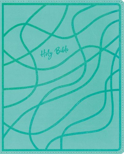 NIV, Verse Mapping Bible for Girls, Leathersoft, Teal, Comfort Print
