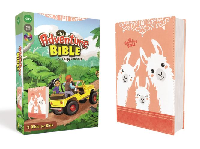 NIrV, Adventure Bible for Early Readers, Leathersoft, Coral, Full Color