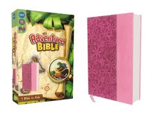 NIV, Adventure Bible, Leathersoft, Pink, Full Color