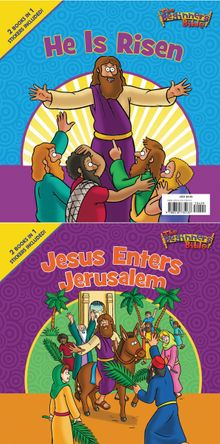 The Beginner's Bible Jesus Enters Jerusalem and He Is Risen