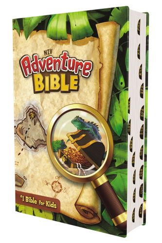 NIV, Adventure Bible, Hardcover, Full Color, Thumb Indexed
