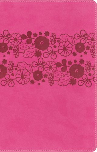 NIrV, Holy Bible, Large Print, Leathersoft, Pink