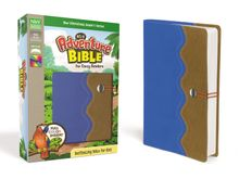 NIrV, Adventure Bible for Early Readers, Leathersoft, Blue/Tan, Full Color