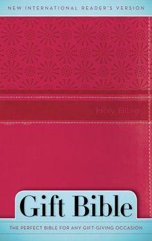 NIrV, Gift Bible, Leathersoft, Pink