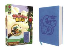 NKJV, Adventure Bible, Leathersoft, Blue, Full Color
