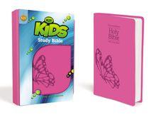 KJV, Kids Study Bible, Leathersoft, Pink