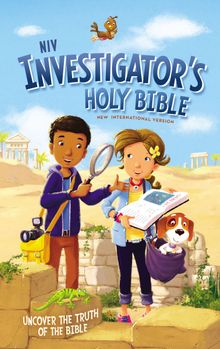 NIV, Investigator's Holy Bible, Hardcover