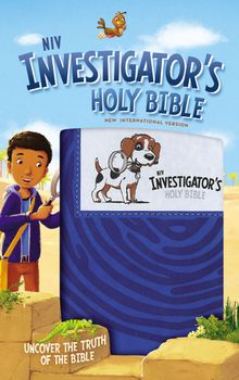 NIV, Investigator's Holy Bible, Leathersoft, Blue