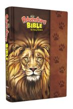 NIrV, Adventure Bible for Early Readers, Hardcover, Full Color, Magnetic Closure, Lion