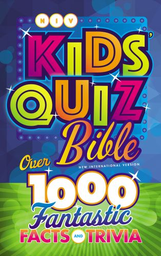 NIV, Kids' Quiz Bible, Hardcover, Comfort Print