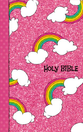 NIV, God's Rainbow Holy Bible, Hardcover, Comfort Print