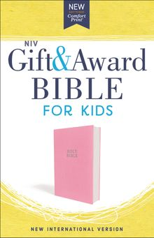 NIV, Gift and Award Bible for Kids, Flexcover, Pink, Comfort Print