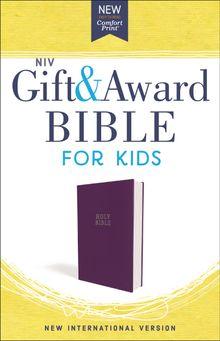 NIV, Gift and Award Bible for Kids, Flexcover, Purple, Comfort Print