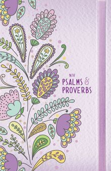 NIV, Psalms and Proverbs, Hardcover, Purple, Comfort Print