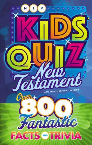 NIV, Kids' Quiz New Testament, Paperback, Comfort Print