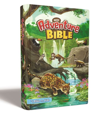 NRSV, Adventure Bible, Hardcover, Full Color Interior, Comfort Print