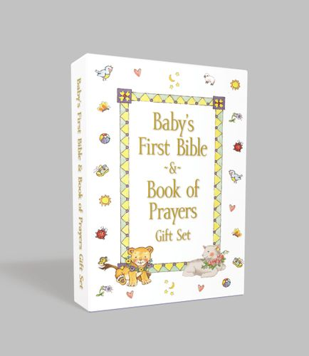 Baby's First Bible and Book of Prayers Gift Set