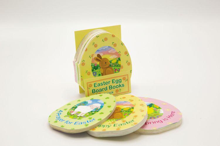 Easter Egg Board Books, 3 Pack