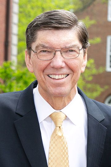 Photo of Clayton M. Christensen