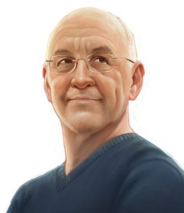 Kevin Kwan - Author illustration © 2012 by David McClellan