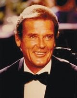 Sir Roger Moore - Courtesy of the Author