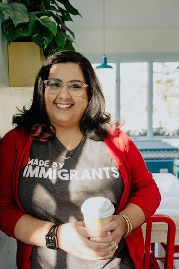 Nisha Sharma - Photo by Jon Macapodi