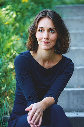 Daniela Krien - Maurice Haas / © Diogenes Verlag