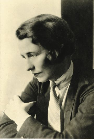 Edna St. Vincent Millay - Photo courtesy The Millay Society
