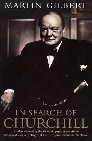 In Search of Churchill book image