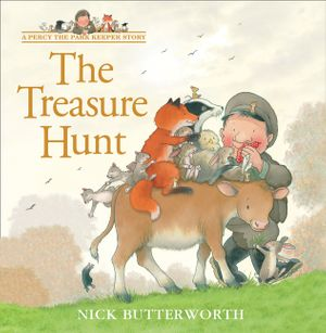 The Treasure Hunt (A Percy the Park Keeper Story) book image