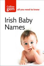 Irish Baby Names (Collins Gem) Paperback  by