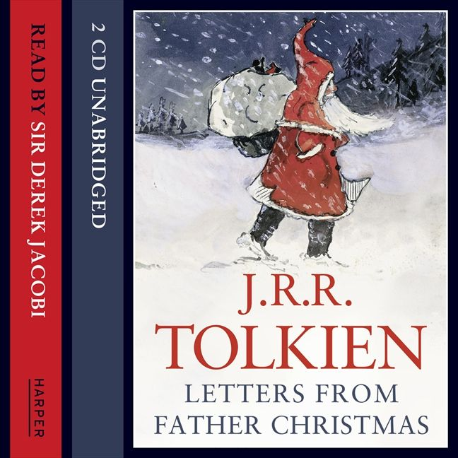 Letters from father christmas j r r tolkien cd audio enlarge book cover spiritdancerdesigns Choice Image
