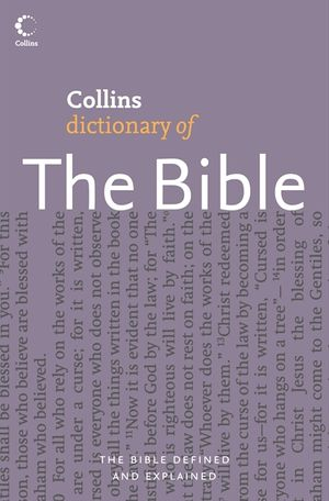 Collins Dictionary of The Bible book image