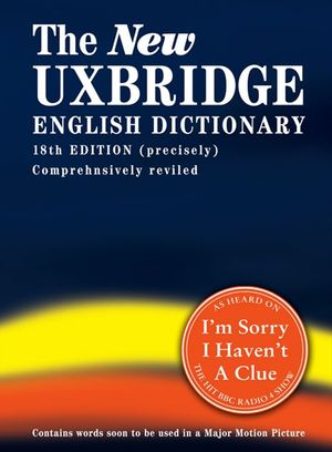 The New Uxbridge English Dictionary book image