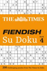 The Times Fiendish Su Doku Book 4: 200 challenging Su Doku puzzles