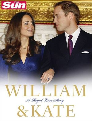William and Kate: A Royal Love Story book image