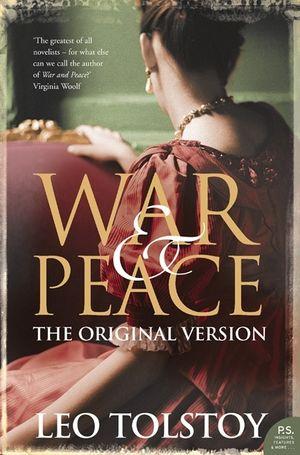 War and Peace: Original Version book image