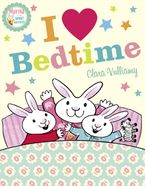 I Heart Bedtime (Martha and the Bunny Brothers) Paperback  by Clara Vulliamy