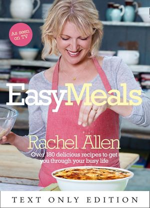 Easy Meals Text Only book image