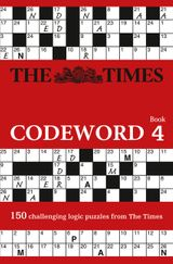 The Times Codeword 4: 150 cracking logic puzzles