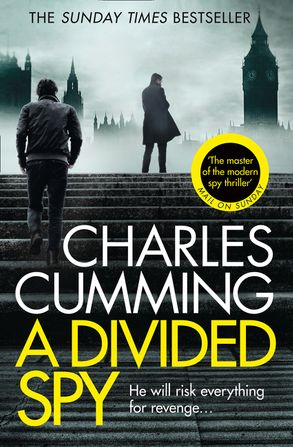 Cover image - A Divided Spy: A gripping espionage thriller from the master of the modern spy novel (Thomas Kell Spy Thriller, Book 3)