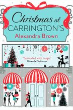 Christmas at Carrington's Paperback  by Alexandra Brown