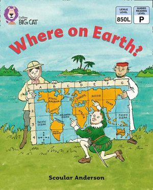 Where on Earth?: Band 11/Lime (Collins Big Cat) book image