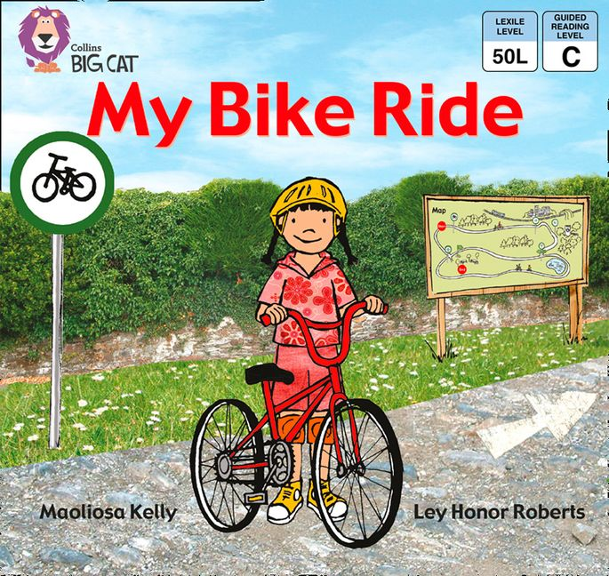 My Bike Ride Band 02a Red A Collins Big Cat Maoliosa Kelly