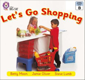 Let's Go Shopping: Band 02b/Red B (Collins Big Cat) book image