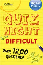 Collins Quiz Night (Difficult) eBook DGO by Collins