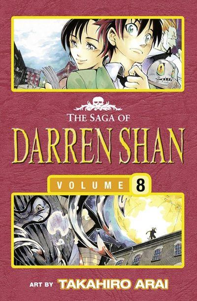 The Saga of Darren Shan (8) - Allies of the Night [Manga Edition]